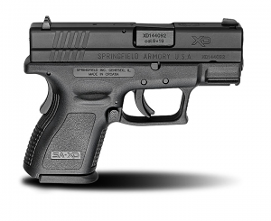 Springfield Armory XD9, Fixed Sights, 9mm, 3