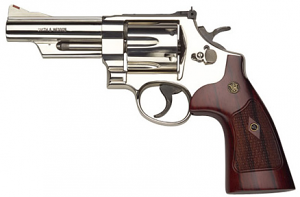 Smith & Wesson Model 29 Classic Six Shot, 4 inch .44 Magnum - Nickel