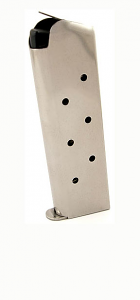 Check-Mate .45ACP, 8RD, SS, Hybrid - Full Size 1911 Magazine