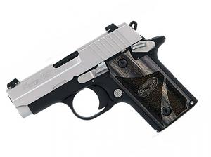 Sig Sauer P238 .380ACP, 2-Tone Blackwood