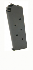 Check-Mate .45ACP, 7RD Compact, Blue - Officer's Size 1911 Magazine