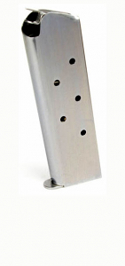Check-Mate .45ACP, 7RD, SS, Wadcutter - Full Size 1911 Magazine