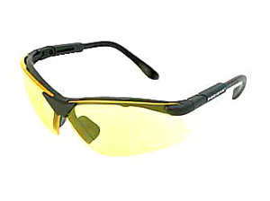Radians Revelation Shooting Glasses BLK/AMBER