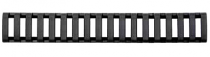 Ergo 18 Slot Ladder LowPro Rail Covers - 3PK - BLACK