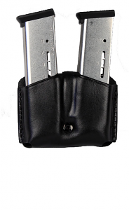 Ritchie Leather Double Mag Pouch - HK USP 9mm/.40SW