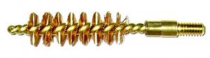 Pro-Shot Bronze Bore Brush 8-32 Thread Pistol 9mm