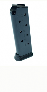 Check-Mate .45ACP, 8RD, Blue, Hybrid - Full Size 1911 Magazine