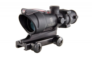 Trijicon ACOG 4X32 .223/5.56 with TA51 Mount - RED CHEVRON