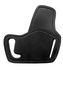 Gould & Goodrich Low Profile Belt Slide Holster 895, Right Hand, BLACK - UNIVERSAL MED AUTO/SM REVOLV