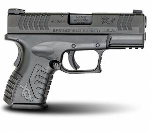 Springfield Armory XDM Compact, .40 S&W, Fixed Sights, 3.8