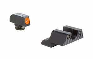 Trijicon HD Night Sight Set - Glock 42 - Orange Front