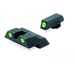 Meprolight Tru-Dot Tritium Night Sights - GLOCK COMPACT