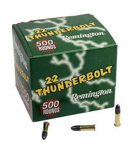 Remington .22LR Thunderbolt 40GR LRN - 500RD