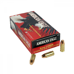 Federal American Eagle 9mm Luger 147 GR. FMJ - 50RD