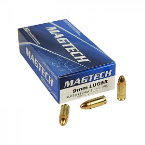 Magtech 9mm Luger 124 GR. FMJ - 50RD