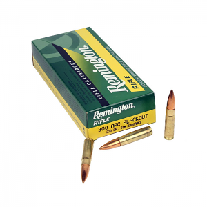 Remington 300 AAC Blackout 220GR. OTM Subsonic - 20RD