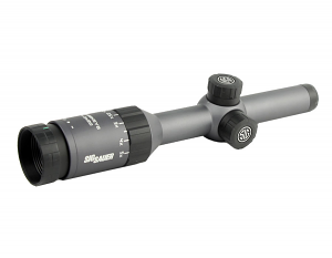 Whiskey5 1-5X20mm Riflescope - Right