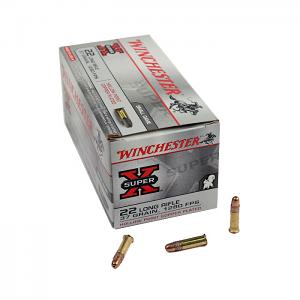 Winchester .22LR Super-X 37GR HP - 500RD