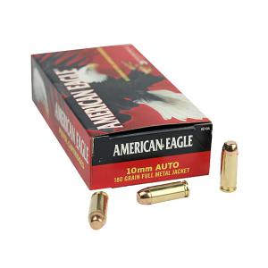 American Eagle 10mm Auto 180 GR. FMJ - 50RD