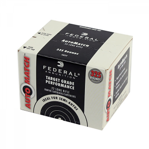 Federal AutoMatch .22LR 40GR Solid - 325RD