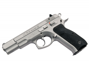 CZ-75B, Matte Stainless, Fixed Sights, 9mm