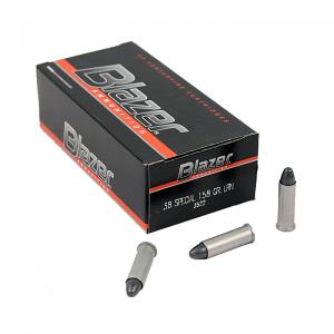 CCI Blazer .38 Special 158 GR. LRN - Aluminum - 50RD