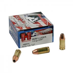 Hornady American Gunner XTP 9mm Luger 115 GR. HP - 25RD