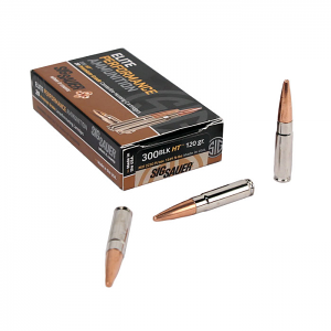 Sig Sauer 300 AAC Blackout 120 GR. Elite Hunting Solid Copper - 20RD Box