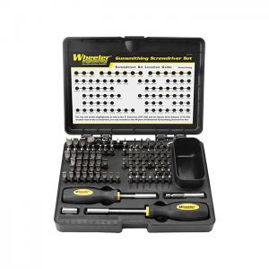 Wheeler Engineering 89-Piece Professional Gunsmith Screwdriver Set