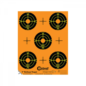 Caldwell Orange Peel Bullseye Target 2