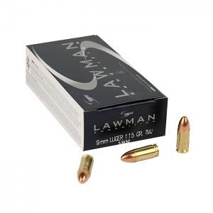 Speer Lawman 9mm Luger 115 GR. TMJ - 50RD