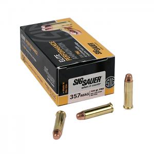 Sig Sauer .357 Magnum 125 GR. Elite Ball FMJ - 50RD