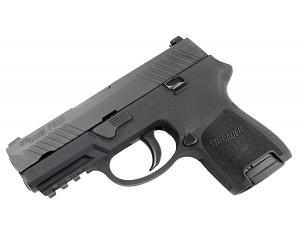 Sig Sauer P320 Sub-Compact, 9mm, Nitron, SigLite Night Sights, DAO