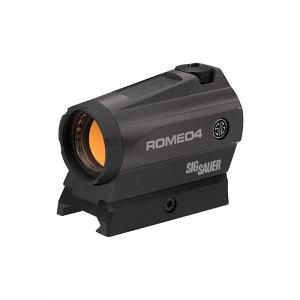 Sig Sauer Romeo4C 1X20mm Solar Red Dot/Circle Dot - 2 MOA