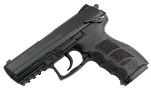H&K P30S 9mm, DA/SA, fixed sights, V3