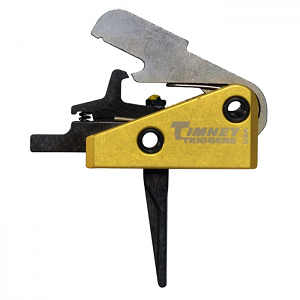 Timney Triggers Solid Straight AR15 Competition Trigger - Small Pin - 3LB