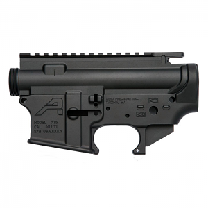 Aero Precision AR15 Stripped Upper/Lower Receiver Set - BLK