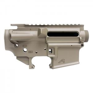 Aero Precision AR15 Stripped Upper/Lower Receiver Set - FDE