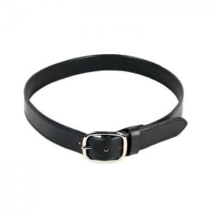 Milt Sparks Leather Gun Belt - Black - 42