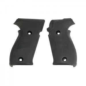 Sig Sauer P220 Grips, Aluminum - BLACK