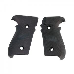 Sig Sauer P229 Grips, Aluminum - BLACK