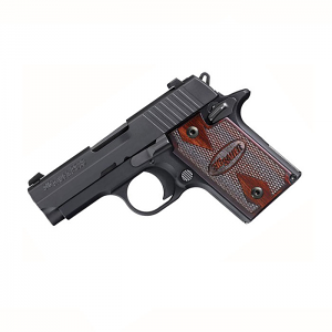 Sig Sauer P938 9mm, Night Sights, Rosewood