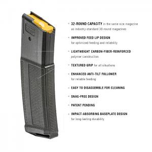 Daniel Defense 32RD 5.56mm DD Magazine - 12 Pack