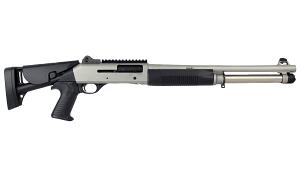 "Benelli M4 H2O Tactical Shotgun W/Telescoping Stock, 18.5"" Barrel, 12 Gauge"