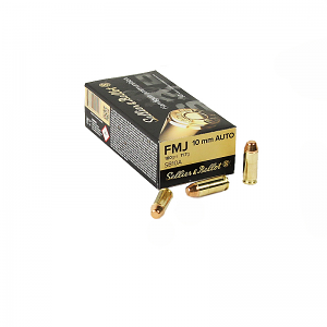 Sellier & Bellot 10mm Auto 180 GR. FMJ - 50RD