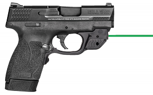 Smith & Wesoon M&P45 SHIELD, Thumb Safety and Green Laser - 11881