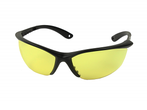 Champion Shooting Glasses BLK/YELLOW