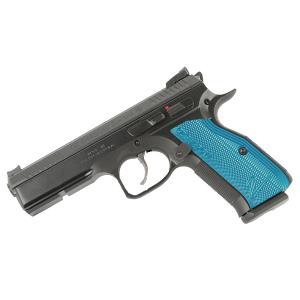 CZ Shadow 2, 9mm, Blue Grips