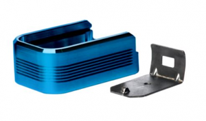 Mec-Gar Adapter - PLUS 2 - Aluminum, Blue