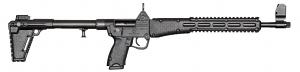 Kel-Tec Sub 2000, 9mm - BLK